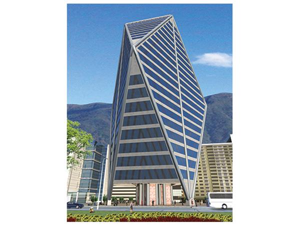 Dise O Virtual De Un Edificio De Oficinas El Tri Ngulo